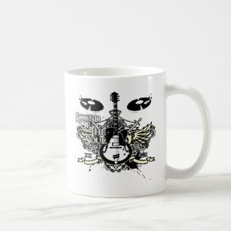 Sound of the Soul Guitar Coffee Mug