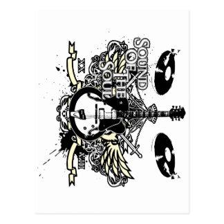 Sound of the Soul Guitar Postcard