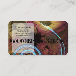 Sound Of Waving Flowers Business Card