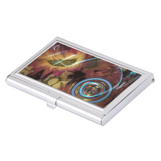 Sound Of Waving Flowers Business Card Case