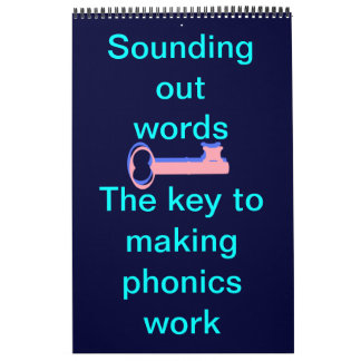 Sound out words phonics calendar