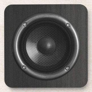 Sound Speaker Funny Music coasters