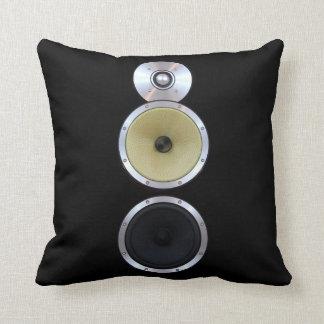 Sound Speaker Throw Pillow