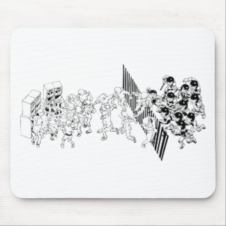 Sound System Culture Mouse Pad