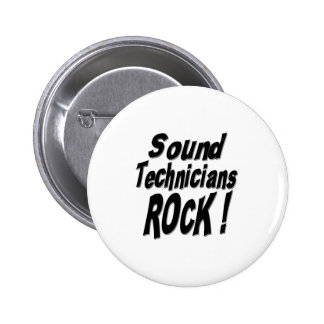 Sound Technicians Rock! Button