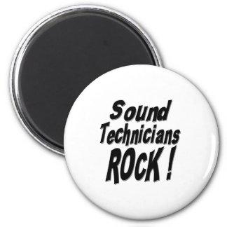 Sound Technicians Rock! Magnet