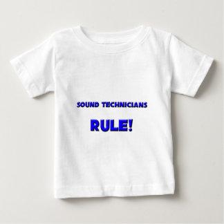 Sound Technicians Rule! Tshirts