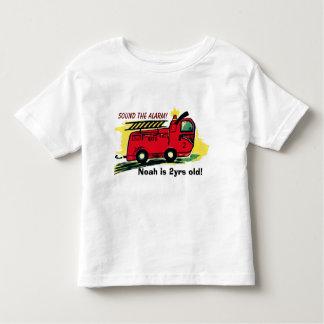 Sound the alarm! toddler t-shirt