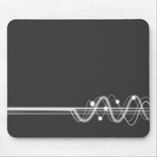 Sound Wave - Dark Gray Mouse Pad
