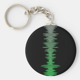 Sound Wave Keychain