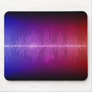 Sound Wave Mouse Pad
