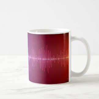 Sound Wave Classic White Coffee Mug