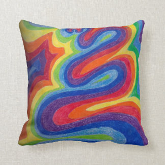 Sound Wave Throw Pillows