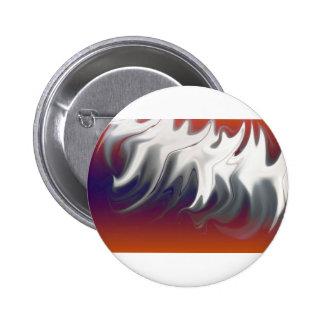 Sound wave pinback button