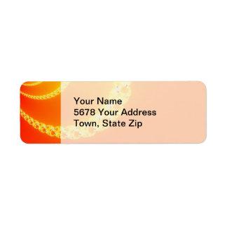 Sound Wave Shipping, Address, & Return Address Labels   Zazzle