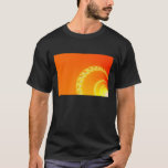 Sound Waves Fractal Art T-Shirt