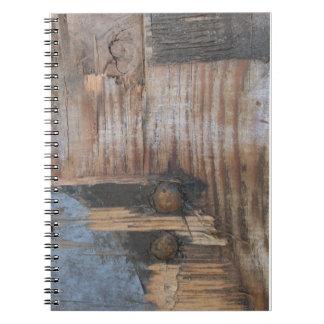 Sound Wood I Spiral Notebook