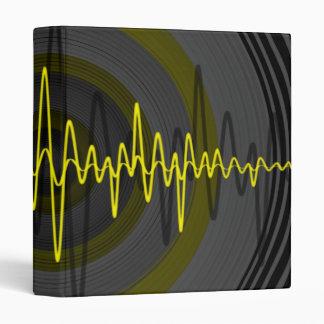 Sound Yellow Dark binder