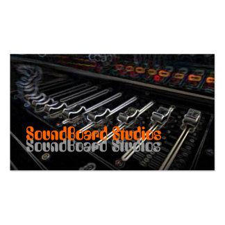 Soundboard Music Business Card Template