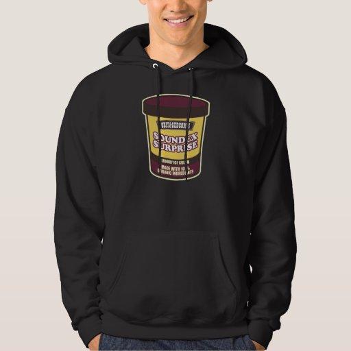 Soundex Surprise Ice Cream Hooded Sweatshirt