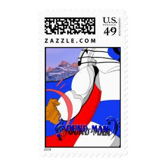 SOUNDMAN Postage Stamps