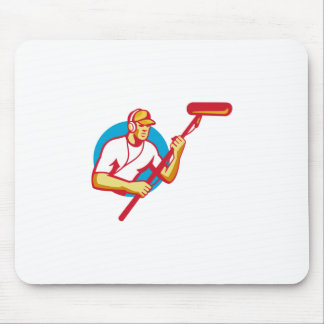 soundman sound man with microphone retro mouse pad