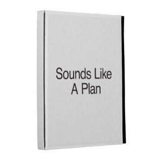 Sounds Like A Plan iPad Folio Cover