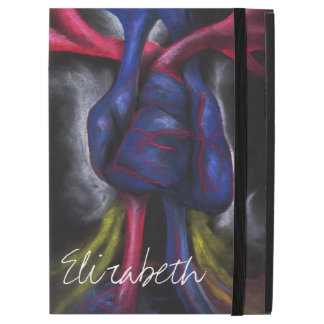 Sounds Of A Blue Heart Anatomical Science Art iPad Pro Case
