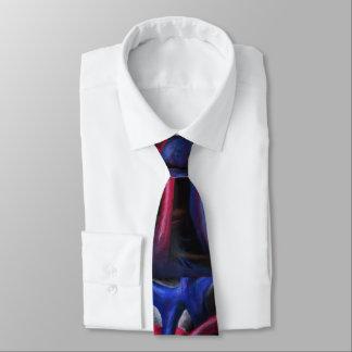 Sounds Of A Blue Heart Original Art Necktie