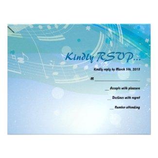 SOUNDS of the PIANO Bat Bar Mitzvah Reply Card