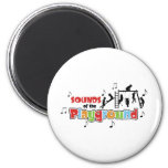 Sounds of the Playground Products 2 Inch Round Magnet