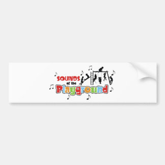 Sounds of the Playground Products Bumper Sticker