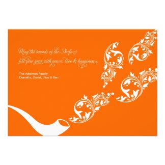 Sounds of the Shofar Flat Card Invitations