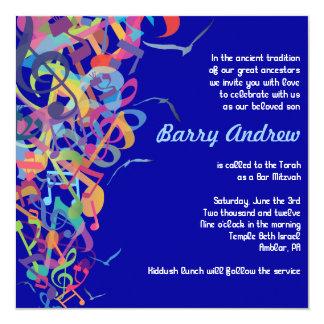 SOUNDS OF THE TORAH Bat Bar Mitzvah Invitation