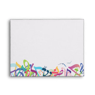 SOUNDS OF THE TORAH Small Envelope for reply card