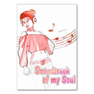 Soundtrack of my Soul Pink Card