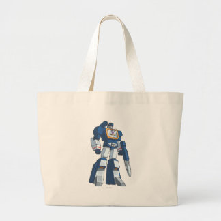Soundwave 1 tote bags