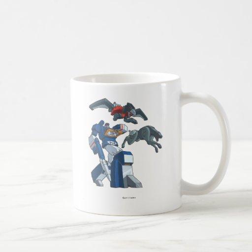 Soundwave 3 coffee mugs
