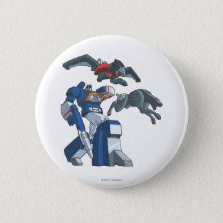 Soundwave 3 pinback button