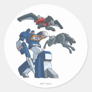 Soundwave 3 sticker