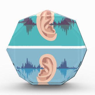 Soundwave a través del oído humano