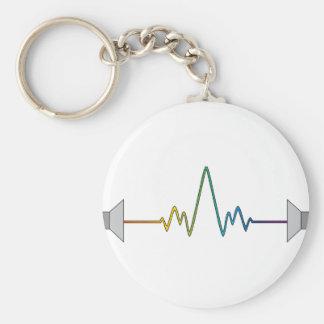 Soundwave Keychain