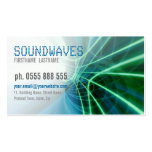 SOUNDWAVES Scifi Business Card