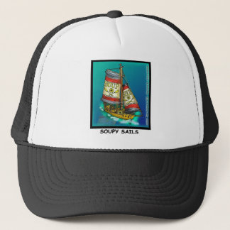 Soup  And Sails Funny Gifts & Collectibles Trucker Hat