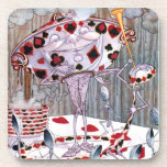 Soup, Beautiful Soup from Alice in Wonderland Beverage Coaster