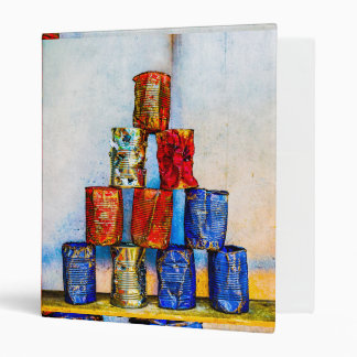 Soup Cans - After The Lunch Binder