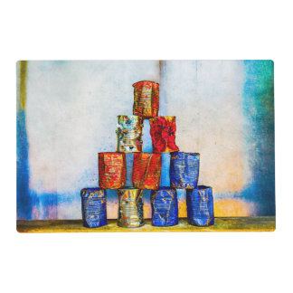 Soup Cans - After The Lunch Placemat