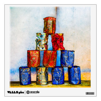 Soup Cans - After The Lunch Wall Decal