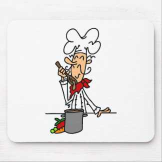 Soup Chef T-shirts and Gifts Mouse Pad