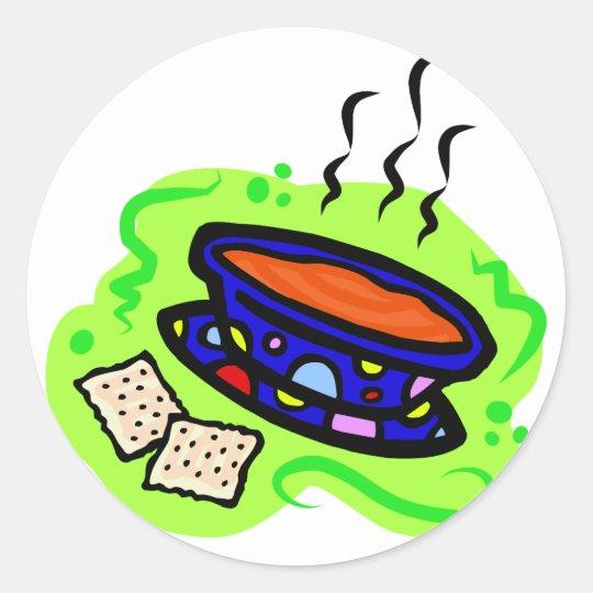 Soup Classic Round Sticker